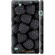 Чехол на Sony Xperia C4 Черная ежевика