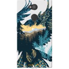 Чехол на Sony Xperia L2 H4311 Арт-орел на фоне природы