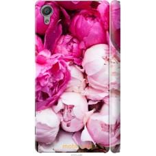 Чехол на Sony Xperia X Розовые цветы