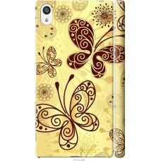 Чехол на Sony Xperia Z5 Premium Рисованные бабочки