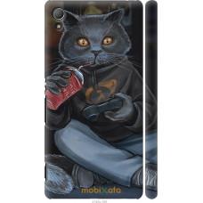 Чехол на Sony Xperia Z3+ Dual E6533 gamer cat