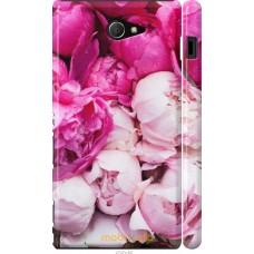 Чехол на Sony Xperia M2 D2305 Розовые цветы