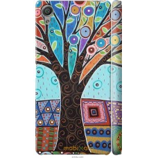 Чехол на Sony Xperia X Арт-дерево