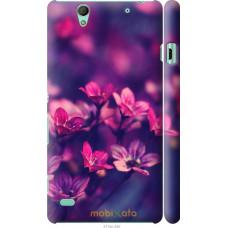 Чехол на Sony Xperia C4 Весенние цветочки