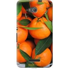 Чехол на Sony Xperia E4g Мандарины