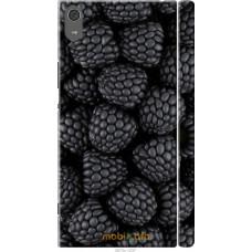 Чехол на Sony Xperia XA1 Ultra Черная ежевика