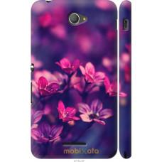 Чехол на Sony Xperia E4 Dual Весенние цветочки