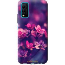 Чехол на Vivo Y30 Пурпурные цветы