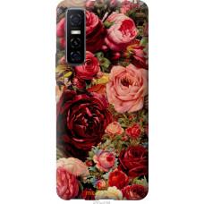 Чехол на Vivo Y73S Цветущие розы
