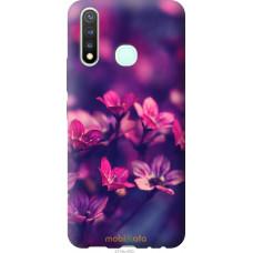 Чехол на Vivo Y19 Пурпурные цветы