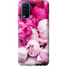 Чехол на Vivo Y30 Розовые пионы