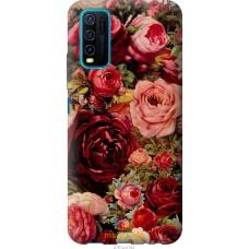 Чехол на Vivo Y30 Цветущие розы