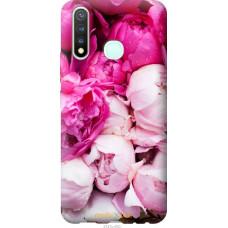 Чехол на Vivo Y19 Розовые пионы