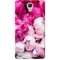 Чехол на Xiaomi Redmi Note Розовые цветы
