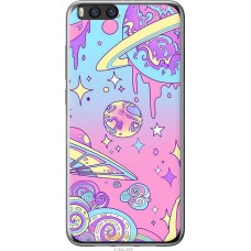 Чехол на Xiaomi Mi Note 3 'Розовый космос