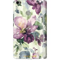 Чехол на Xiaomi Mi Max Акварель цветы