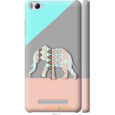 Чехол на Xiaomi Mi4c Узорчатый слон