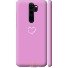 Чехол на Xiaomi Redmi Note 8 Pro Сердце 2