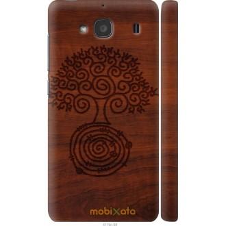 Чехол на Xiaomi Redmi 2 Узор дерева