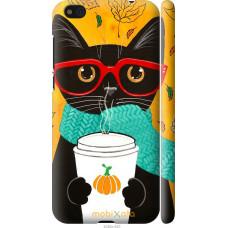 Чехол на Xiaomi Mi5c Осенний кот