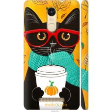 Чехол на Xiaomi Redmi Note 3 pro Осенний кот