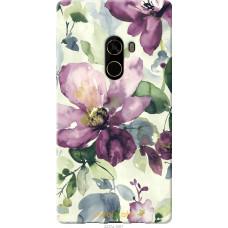 Чехол на Xiaomi Mi MiX 2 Акварель цветы