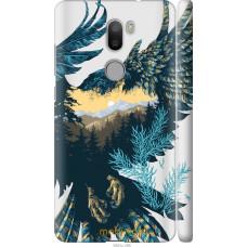 Чехол на Xiaomi Mi 5s Plus Арт-орел на фоне природы