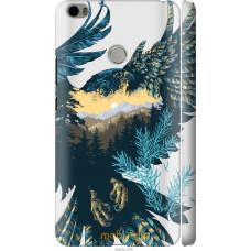 Чехол на Xiaomi Mi Max Арт-орел на фоне природы