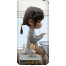 Чехол на Xiaomi Mi Note 2 Милая девочка с зайчиком