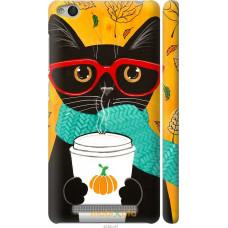 Чехол на Xiaomi Redmi 3 Осенний кот
