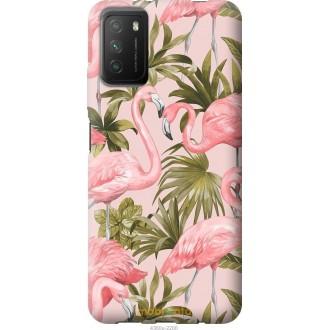 Чехол на Xiaomi Poco M3 фламинго 2