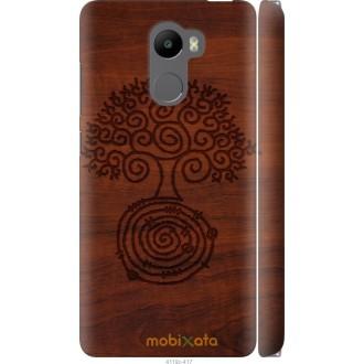 Чехол на Xiaomi Redmi 4 Узор дерева