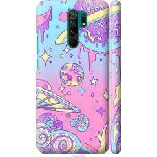 Чехол на Xiaomi Redmi 9 Розовая галактика
