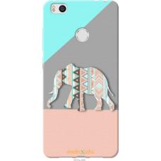 Чехол на Xiaomi Mi4s Узорчатый слон