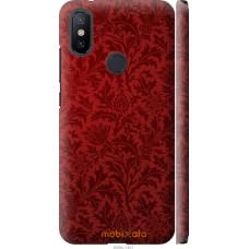 Чехол на Xiaomi Mi A2 Чехол цвета бордо