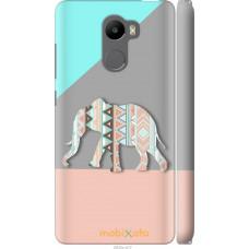 Чехол на Xiaomi Redmi 4 Узорчатый слон
