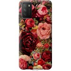 Чехол на Xiaomi Poco M3 Цветущие розы