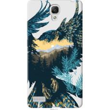 Чехол на Xiaomi Redmi Note Арт-орел на фоне природы