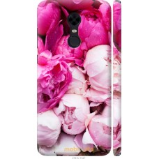 Чехол на Xiaomi Redmi 5 Plus Розовые цветы