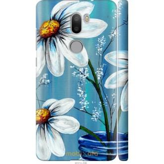 Чехол на Xiaomi Mi 5s Plus Красивые арт-ромашки