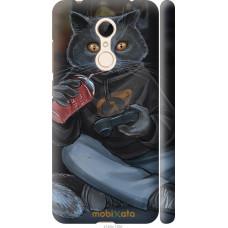 Чехол на Xiaomi Redmi 5 gamer cat