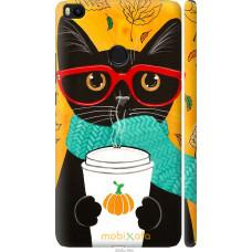 Чехол на Xiaomi Mi Max 2 Осенний кот
