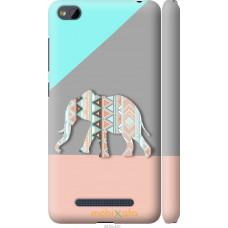 Чехол на Xiaomi RedMi 4A Узорчатый слон
