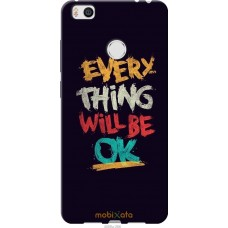 Чехол на Xiaomi Mi4s Everything will be Ok