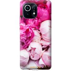 Чехол на Xiaomi Mi 11 Розовые пионы