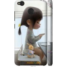 Чехол на Xiaomi Redmi 4X Милая девочка с зайчиком