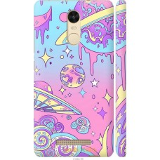 Чехол на Xiaomi Redmi Note 3 pro 'Розовый космос