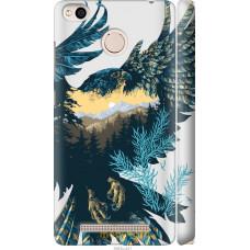 Чехол на Xiaomi Redmi 3x Арт-орел на фоне природы