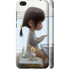 Чехол на Xiaomi Mi5c Милая девочка с зайчиком
