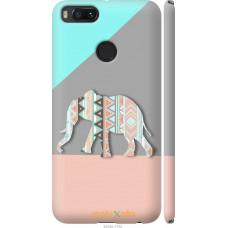Чехол на Xiaomi Mi A1 Узорчатый слон
